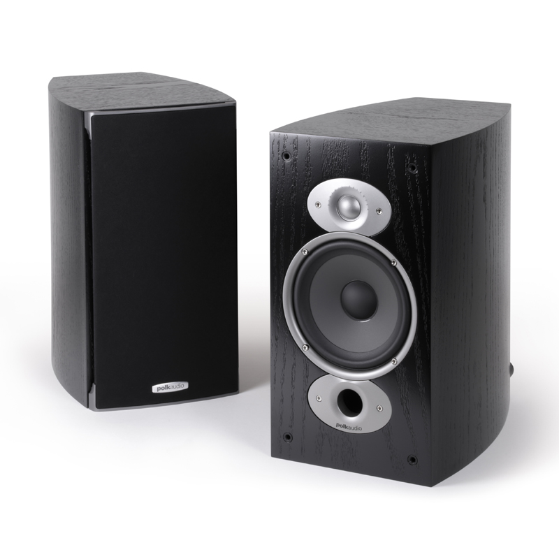 "Pair Polk Audio RTiA3 High Performance Bookshelf Loudspeakers With 6.5/"" Driver"